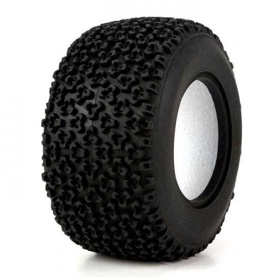Vaterra Glamis Uno Soft Rear 50mm Tetrapod Tyre & Liners (2)