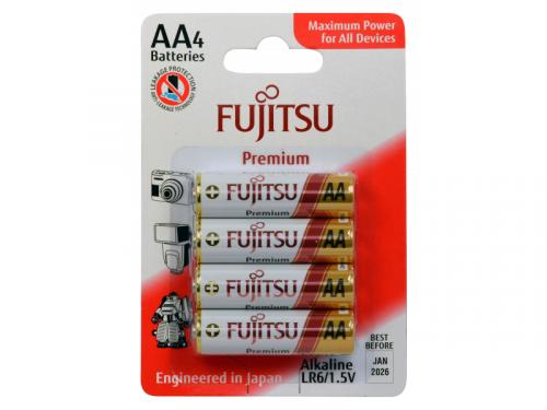 Premium AA Batteries - 4 Pack