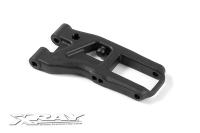 XRay Front Suspension Arm - Hard - Rubber-Spec - 2-Hole