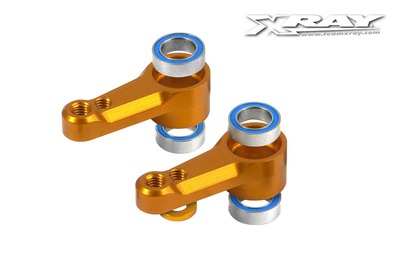 XRay Alu Dual Servo Saver Arm + Ball-Bearings (2) ** CLEARANCE **