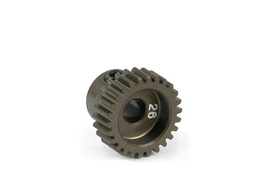 XRay Narrow Pinion Gear Alu Hard Coated 26T / 64