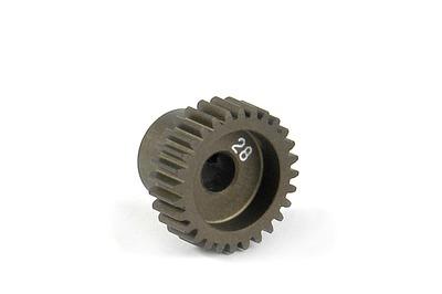 XRay Narrow Pinion Gear Alu Hard Coated 28T / 64