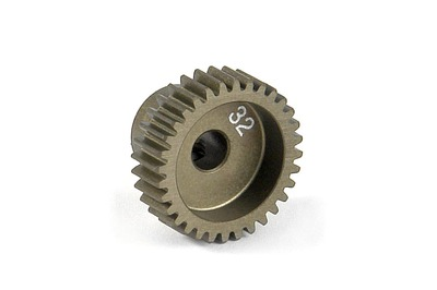 XRay Narrow Pinion Gear Alu Hard Coated 32T / 64