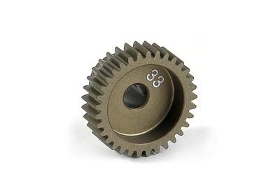 XRay Narrow Pinion Gear Alu Hard Coated 33T / 64