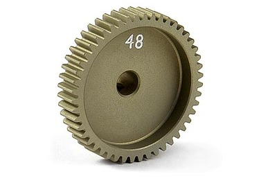 XRay Narrow Pinion Gear Alu Hard Coated 48T / 64