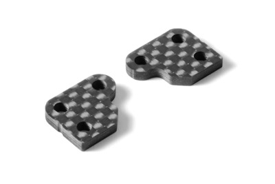 XRay Graphite Extension For Steering Block (2) - 1 Slot