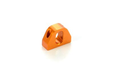 XRay Alu Lower 2-Piece Rear Suspension Holder (1)