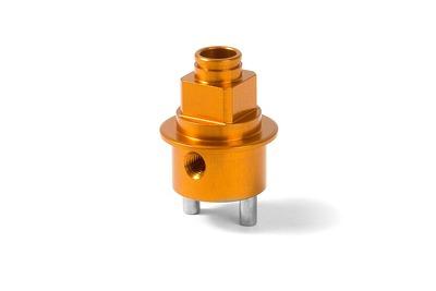 XRay Brake Disk Adapter - Alu 7075 T6 - Orange
