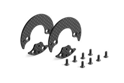 XRay Graphite Rear Aerodynamic Disc 1.6mm - Left+Right - Set
