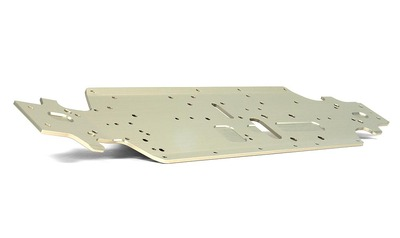 XRay Xb9 13 Alu Chassis - Swiss 7075 T6 (3mm) - Hard Coated