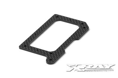 XRay Graphite 2.5mm Rear Pod Lower Plate