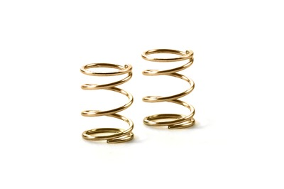 XRay Spring 4.25 Coils 3.6X6X0.4mm; C=1.5 - Gold (Soft) (2)