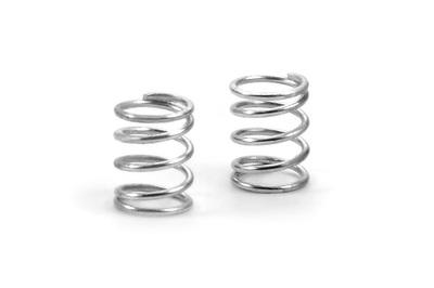 XRay Spring 4.75 Coils 3.6X6X0.45mm; C=2.0 - Silver (Soft) (2)