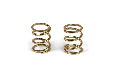 XRay Front Coil Spring 3.6X6X0.5mm; C=3.5 - Gold (2)