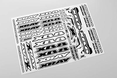 XRay Xb8 Sticker For Body - White
