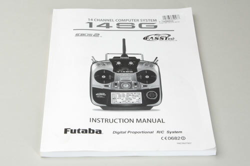 Futaba 14SG Instruction Manual