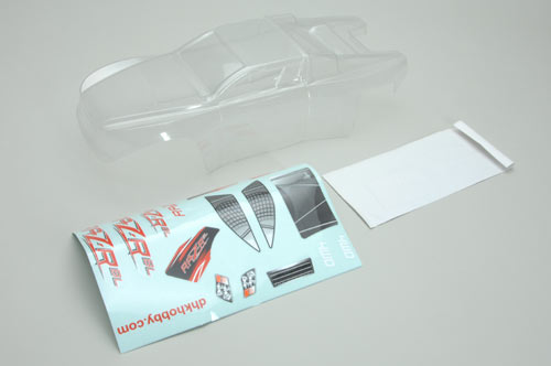 Clear Body (RAZ-R BL) PVC