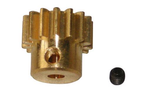 Motor Gear-15T/Lock Nut(M3 x 3)