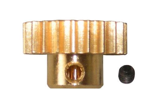 Motor Gear-21T/Lock Nut(M3 x 3)Bron