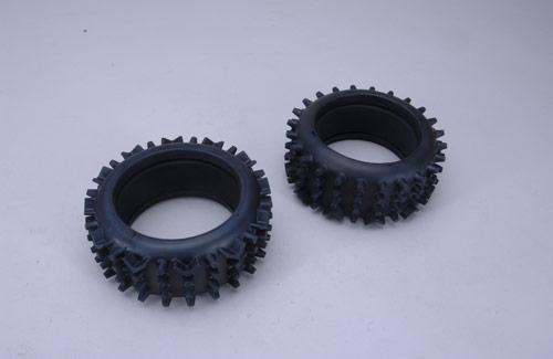 Super-Grip Knobbed M Tyre Ins (Pk2)