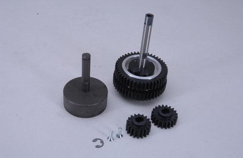 2-Speed Gear Box 1:6/Beet/Mard/Trk