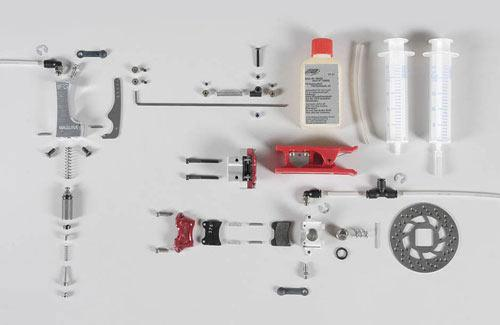 Hydr. brake front/rear axle, set