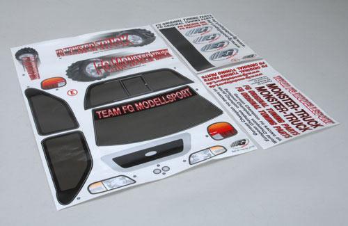 Model Decals-Monst/Stad/Strt Trk