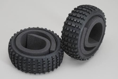 Baja tires S wide with inserts 2pcs