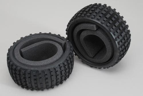 Baja tires S narrow with inserts 2p