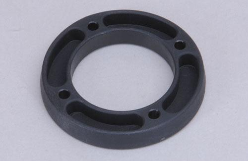 Front plastic stop disk left 4WD