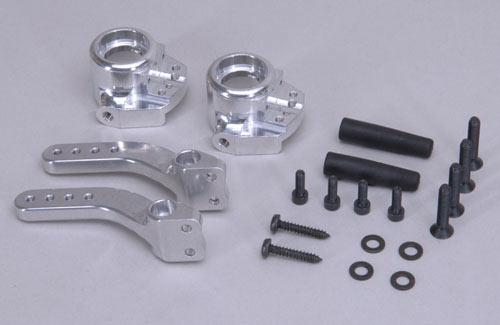 Front alloy upright compl. 4WD, set