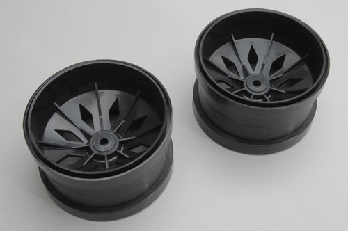 Wheels Black(Pair)- Blaze
