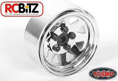 RC4WD 5 Lug Wagon 1.9 Steel Stamped Beadlock Wheels (Chrome)