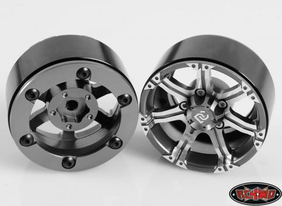 RC4WD Dick Cepek Gun Metal 7 1.9 Internal Beadlock Wheels