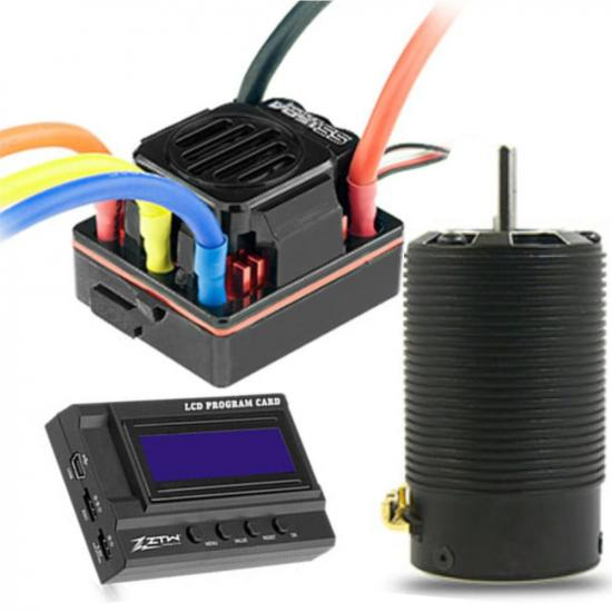 ZTW 1:8 Beast SS Combo with 150A ESC + 4P SL 4074 2Y 2150Kv Motor + LCD Program Card