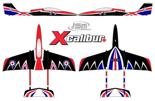 JSM Xcalibur+ (RAF Package)