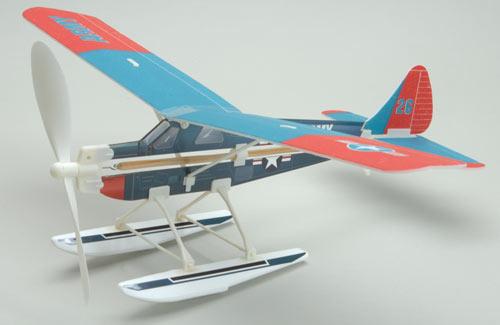 Aviator Beaver Rubber Powered Glider