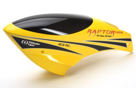 Raptor 50 Fibreglass Canopy