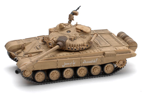 1:72 Scale Infra Red Battle Tank - Iraqi T72 M1