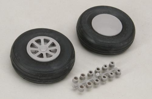 "Scale Wheel-Straight Tread(3.25""/Pr"