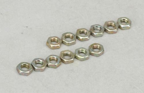 Sullivan 4-40 Nuts (Pk12)