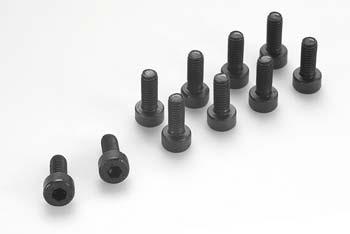 GF-0100-047 - Socket head screw - M6X25 - Steel (10pcs) ** CLEARANCE **