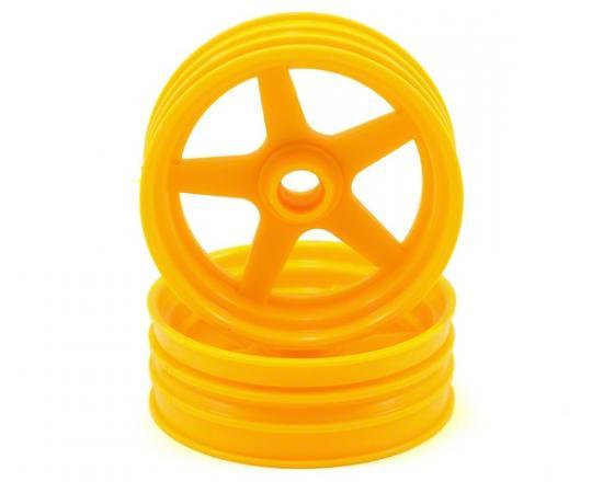 Kyosho Front Wheel (2) Beetle 2014 - Yellow