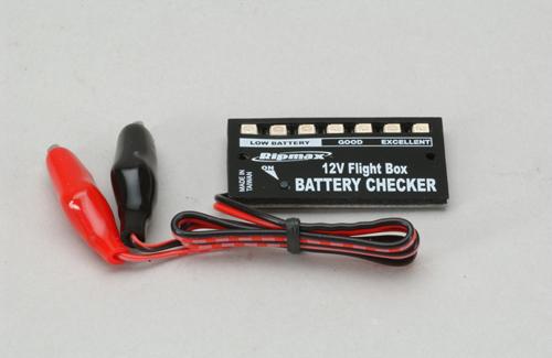 12V Flight Box Battery Checker