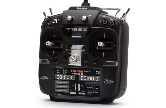 Futaba T16SZ Transmitter with R7008SB Receiver - Mode 2