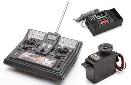 Futaba F14 Transmitter With R168DF Receiver + S148 Servo