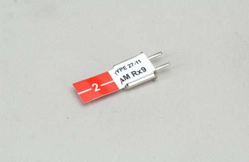 Futaba Red (27.045)AM Rx Xtl