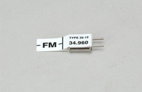 Futaba Ch 56 (34.960)FM Rx Xtl