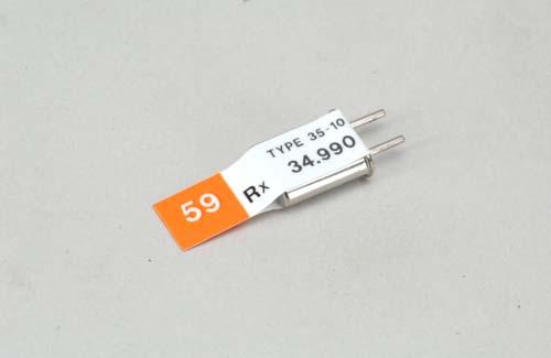 Futaba Ch 59 (34.990)FM Rx Xtl DC
