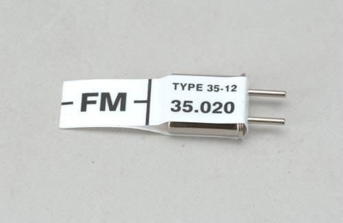 Futaba Ch 62 (35.020)FM Rx Xtl
